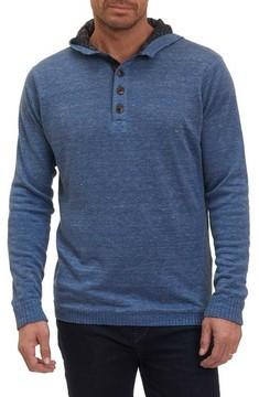 Robert Graham Men's Indus River Sweater Hoodie