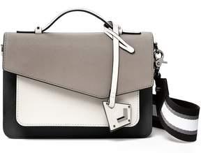 Botkier Cobble Hill Winter Grey Colorblock Cross-Body Bag