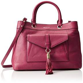 Milly Astor Tote Burgandy