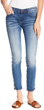 Driftwood Marilyn Geo Embroidered Skinny Jeans