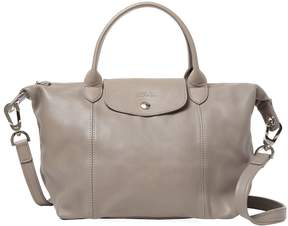 Longchamp Women's Le Pliage Cuir Small Leather Tote