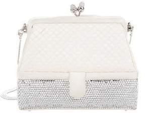 Judith Leiber Crystal-Embellished Satin Evening Bag