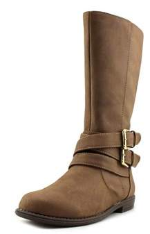 Kenneth Cole Reaction Pippa Rider Youth Round Toe Synthetic Brown Boot.