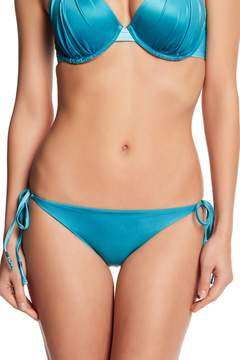 Ach'e A Che' Jolie Ombre String Side Tie Embroidery Bikini Bottom