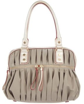 MZ Wallace Leather-Trimmed Bea Satchel