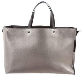 Stuart Weitzman Textured Leather Shoulder Bag