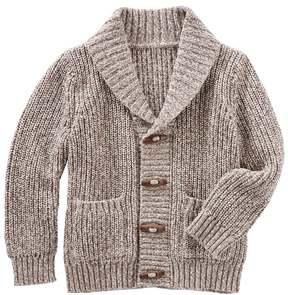 Osh Kosh Baby Boy Shawl Collar Toggle Sweater
