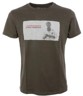 1921 Men's Green Cotton T-shirt.