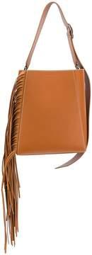 Calvin Klein fringed shoulder bag
