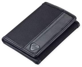 Lewis N. Clark® RFID-Blocking Nylon Tri-Fold Wallet in Black