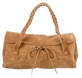 Miu Miu Suede Handle Bag