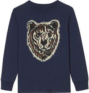 Stella McCartney Crumble bear print cotton T-shirt 4-16 years