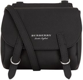 Burberry Bridle Cross Body Bag - BLACK - STYLE