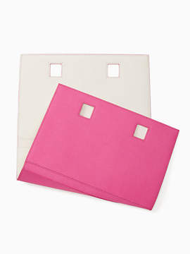 Kate Spade Make it mine leather candace reversible wrap - VIVID SNAPDRAGON/CEMENT - STYLE