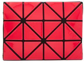 Bao Bao Issey Miyake Lucent Two Tone Card Holder - Womens - Red Multi
