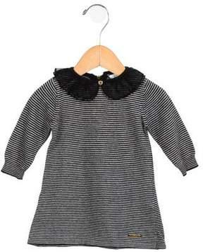 Little Marc Jacobs Girls' Striped Knit Dress