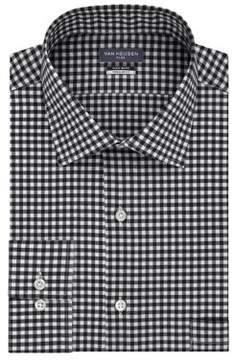 Van Heusen Big Tek-Fit Checkered Dress Shirt