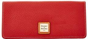 Dooney & Bourke Pebble Grain Slim Wallet - WINE - STYLE