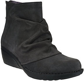 Dansko As Is Leather or Suede Stain Resistant Ankle Boots - Arisa