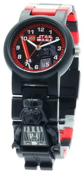 Lego Star Wars Darth Vader Kids Minifigure Interchangeable Links Watch