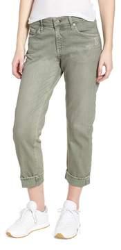AG Jeans 'The Ex-Boyfriend' Crop Slim Jeans