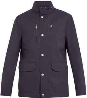 Brunello Cucinelli Lightweight high-neck jacket