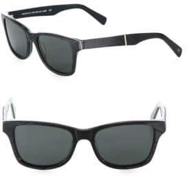 Shwood Canby 54MM Square Sunglasses