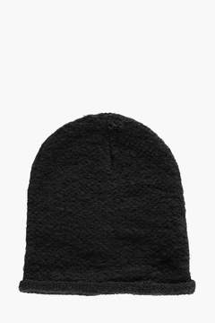 boohoo Textured Knitted Beanie