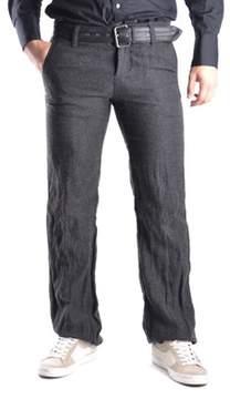 Gazzarrini Men's Grey Viscose Pants.