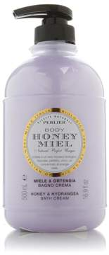 Perlier Honey Hydrangea Bath Cream 16.9 fl. oz.