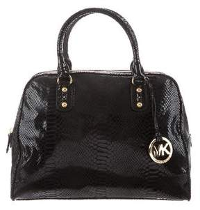 MICHAEL Michael Kors Embossed Handle Bag