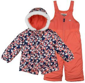 Osh Kosh Baby Girl 2-pc. Heart Print Snowsuit