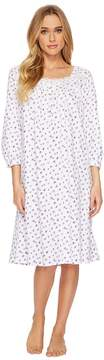 Eileen West Heather Jersey Waltz Nightgown Women's Pajama