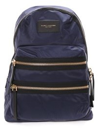 Marc Jacobs Women's Blue Polyamide Backpack. - BLUE - STYLE