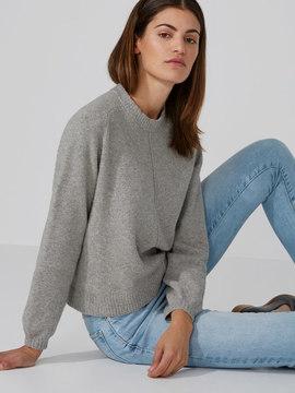 Frank and Oak Dolman-Sleeve Sweater in Ash Heather