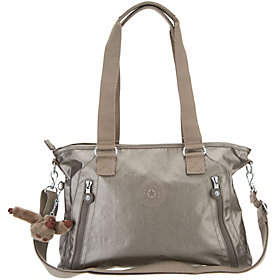 Kipling Nylon Satchel Handbag - Angela - ONE COLOR - STYLE