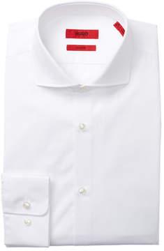 HUGO BOSS Sharp Fit Broadcloth Dress Shirt