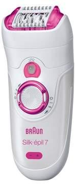 Braun Silk-epil 7 Wet & Dry Women's Rechargeable Electric Epilator - SE7521