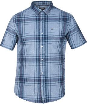 Hurley Men's Archer Short Sleeves Plaid Shirt