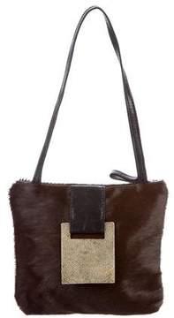R&Y Augousti Small Ponyhair & Stingray Shoulder Bag