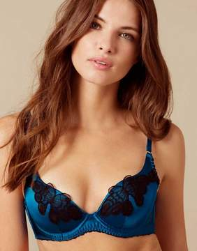 Agent Provocateur Aymee Bra Blue And Black