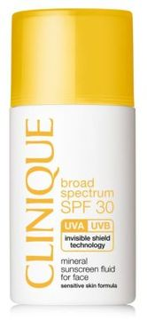 Clinique Broad Spectrum SPF 30 Mineral Sunscreen Fluid for Face/1 oz.