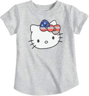 Hello Kitty Baby Girl Jumping Beans Patriotic Graphic Tee