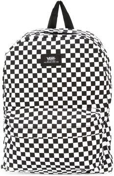 Vans chess print backpack