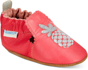 Robeez Soft Soles Pretty Pineapple Shoes, Baby Girls (0-24 months)