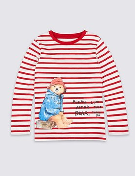 Marks and Spencer PaddingtonTM Pure Cotton Top (3 Months - 6 Years)