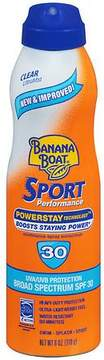Banana Boat Sport Performance UltraMist Continuous Spray Sunscreen, SPF 30