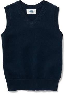 Old Navy V-Neck Sweater Vest for Toddler Boys