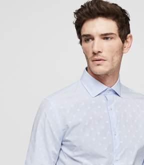 Reiss Gilespie Slim Fit Polka Dot Shirt