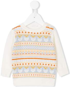 Il Gufo patterned knitted jumper